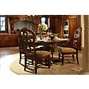 Regal Dark Tone Wood Side Chair