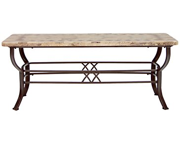 Brookside Stone Rectangular Coffee Table