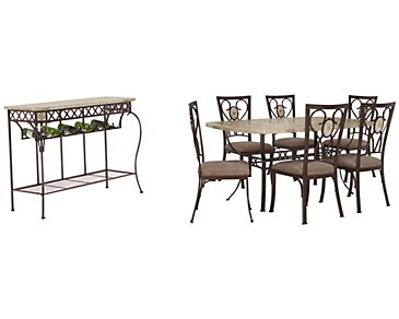 Brookside Rectangular Dining Room