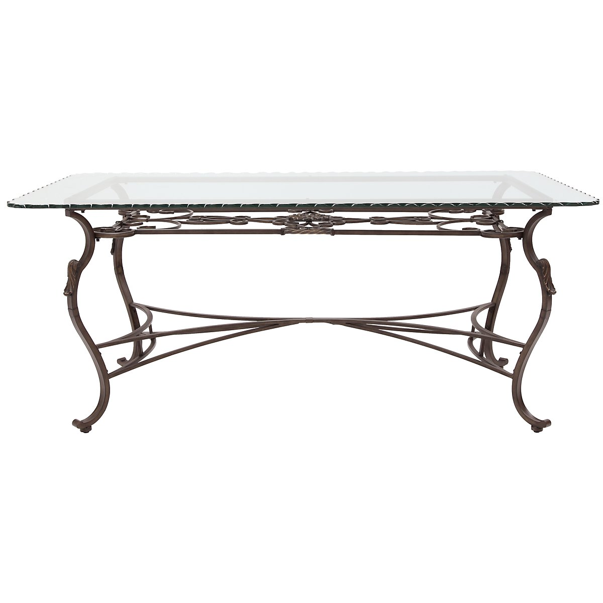 Westcot2 Glass Rectangular Table