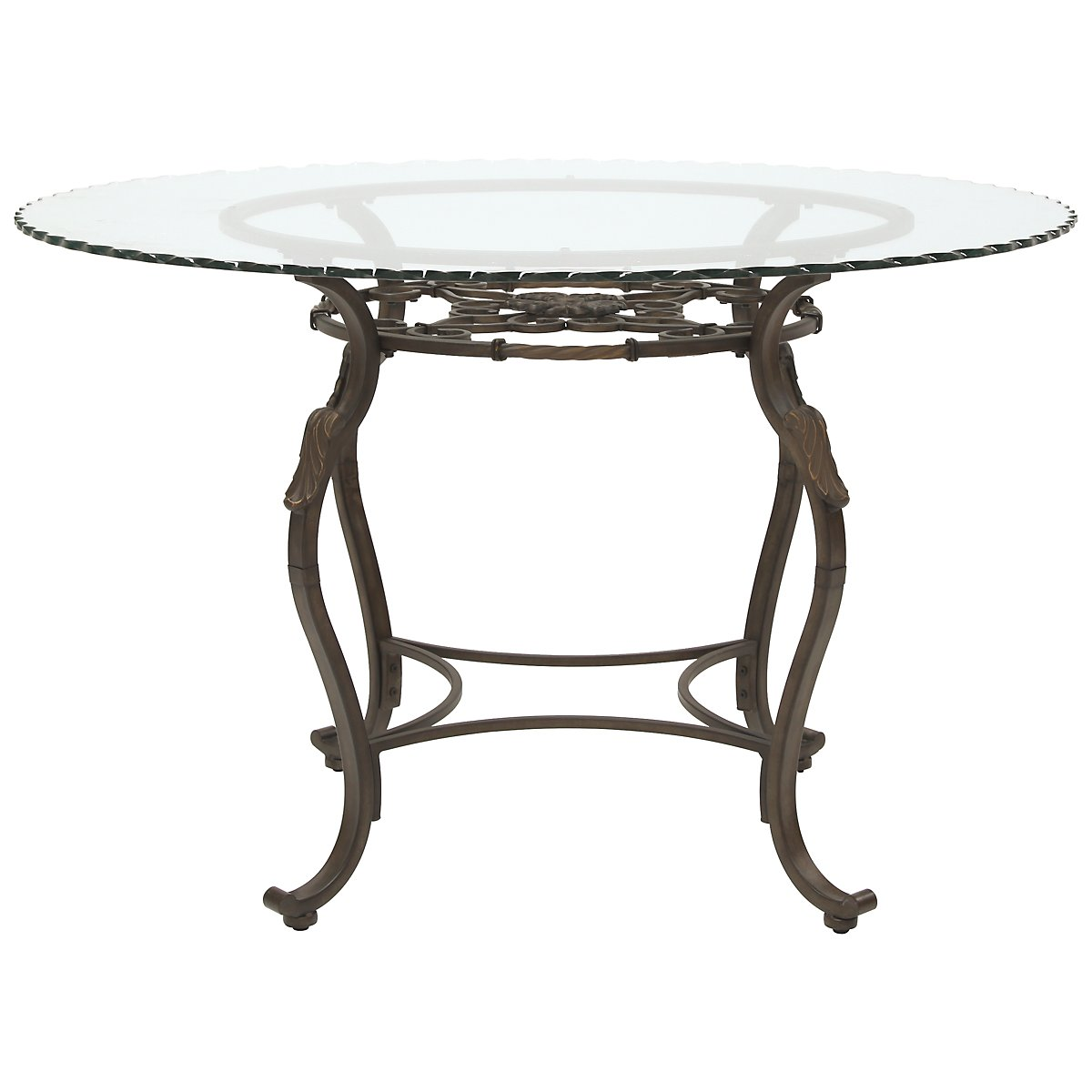 Westcot2 Glass Round Table