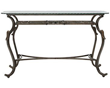 Westcot2 Glass Sofa Table
