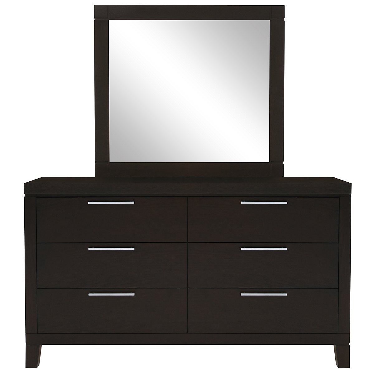 Encore2 Dark Tone Dresser & Mirror