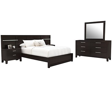 Encore2 Dark Tone Wood Spread Bedroom