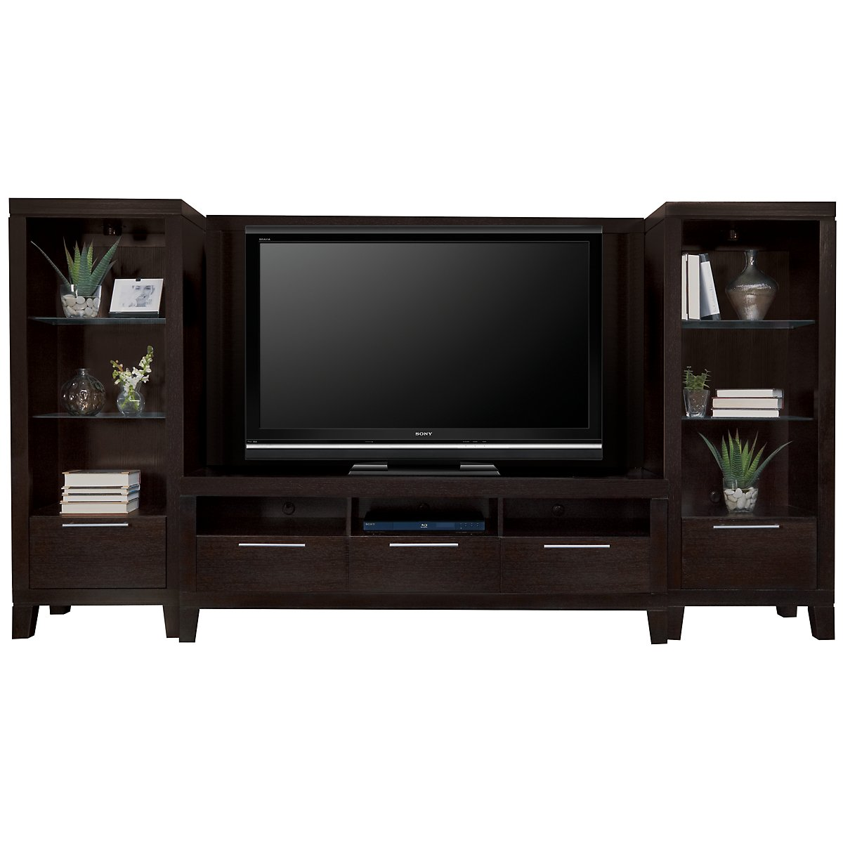 Encore2 Dark Tone Small Entertainment Wall