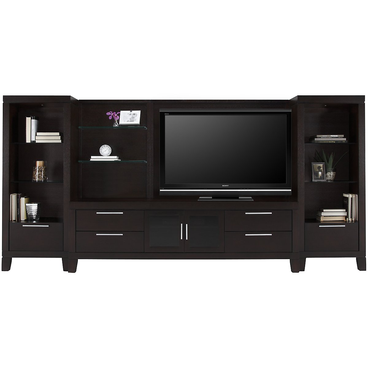 Encore2 Dark Tone Large Entertainment Wall