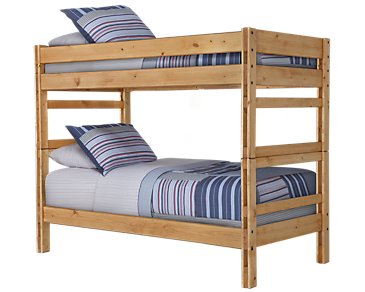 Cinnamon Mid Tone Bunk Bed