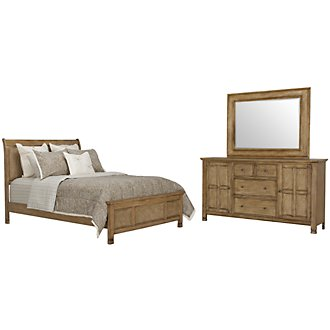 Isle Light Tone Panel Bedroom