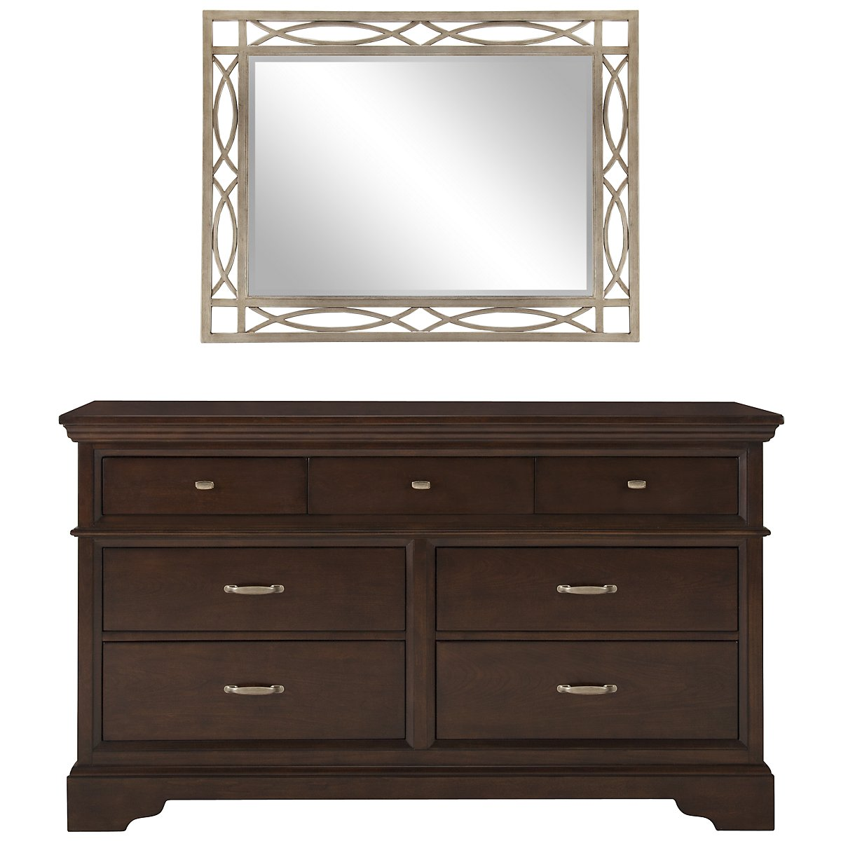 Canyon Dark Tone Small Dresser & Mirror
