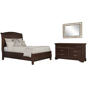 Product Image: Canyon Dark Tone Wood Platform Bedroom