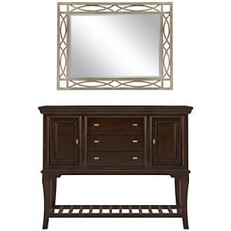 Product Image: Canyon Dark Tone Server & Mirror