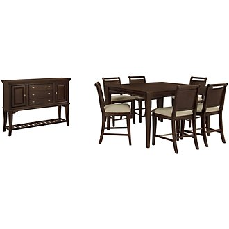 Canyon Dark Tone High Dining Room