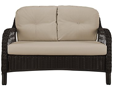 Java Khaki Loveseat