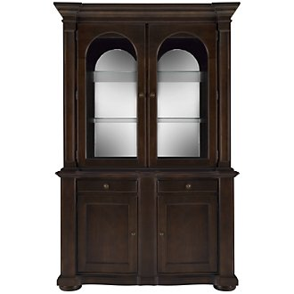 Belmont Dark Tone China Cabinet