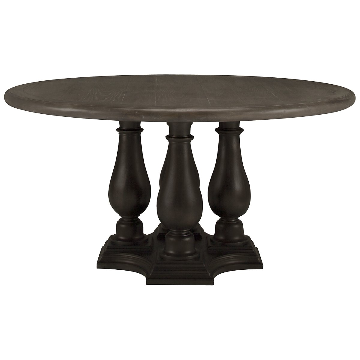 Belgian Oak Light Tone Round Table