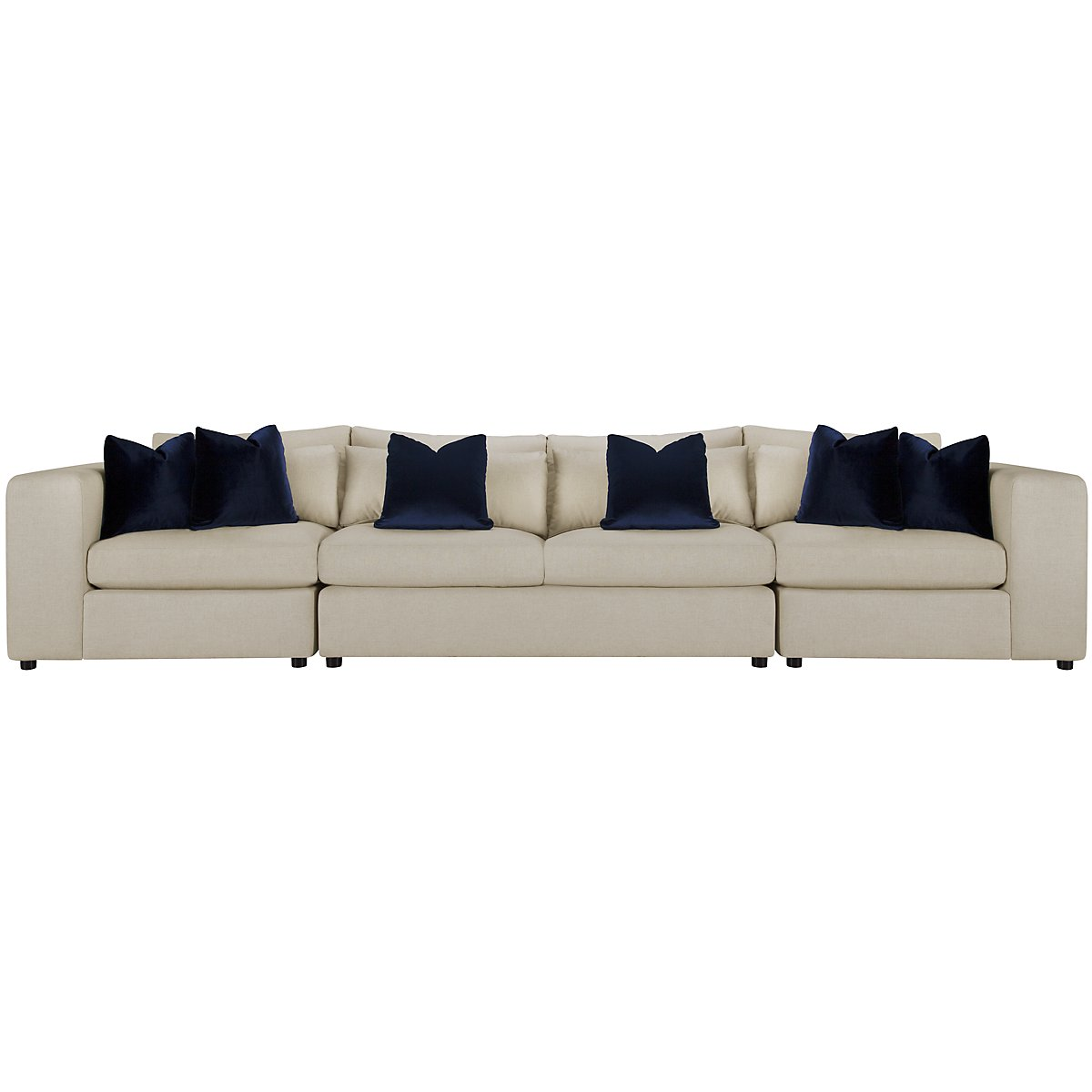 city furniture como lt beige fabric large sofa. Black Bedroom Furniture Sets. Home Design Ideas
