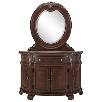 Product Image: Regal Dark Tone Server & Mirror