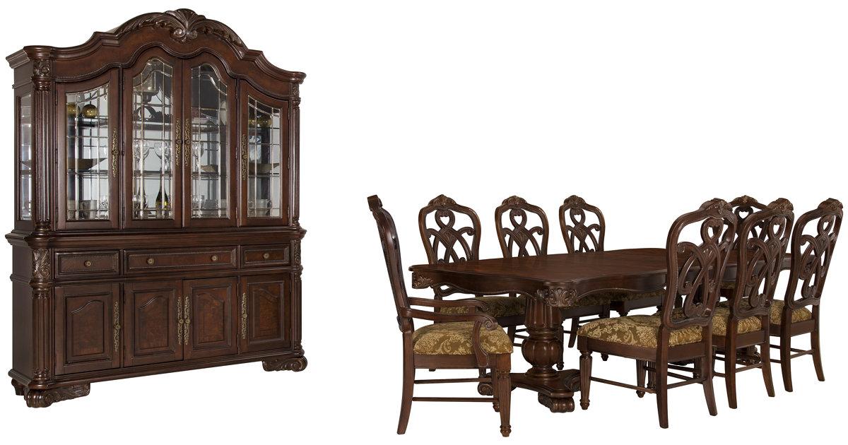 City Furniture Regal Dark Tone Rectangular Dining Room