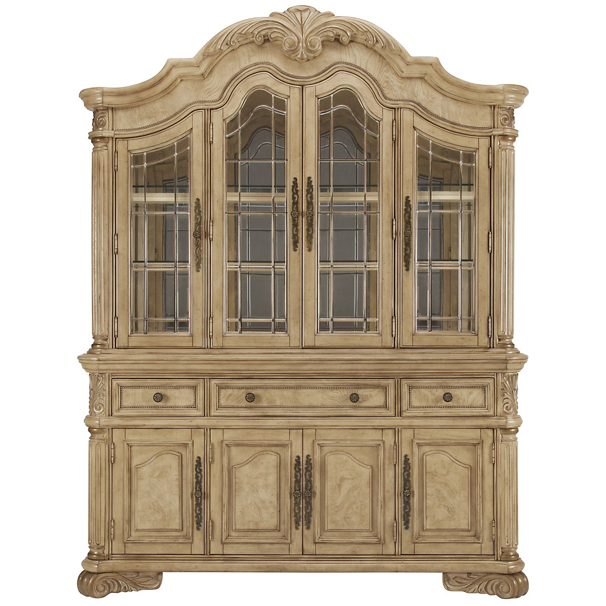 Regal Light Tone China Cabinet