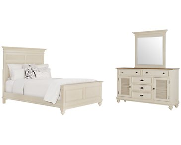 Coventry Two-Tone Panel Bedroom