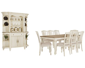Coventry Two-Tone Rectangular Dining Room