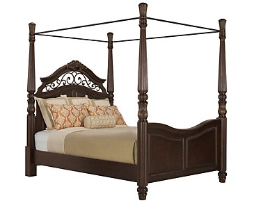 Tradewinds Dark Tone Canopy Bed