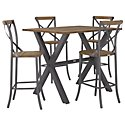 "Canyon Dark Tone Wood 30"" Barstool"