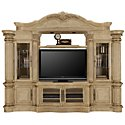 Regal3 Light Tone Small Entertainment Wall with Corners