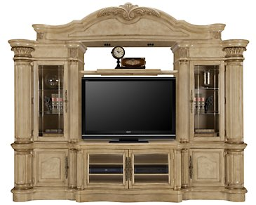 Regal3 Light Tone Small Entertainment Wall