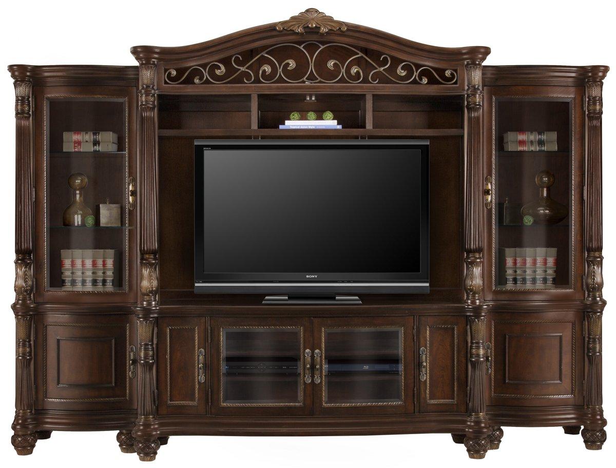 City Furniture Tradewinds Dark Tone 70 Quot Tv Stand