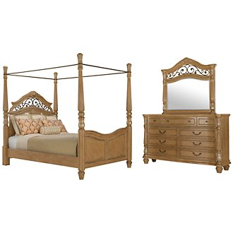 Tradewinds Light Tone Canopy Bedroom