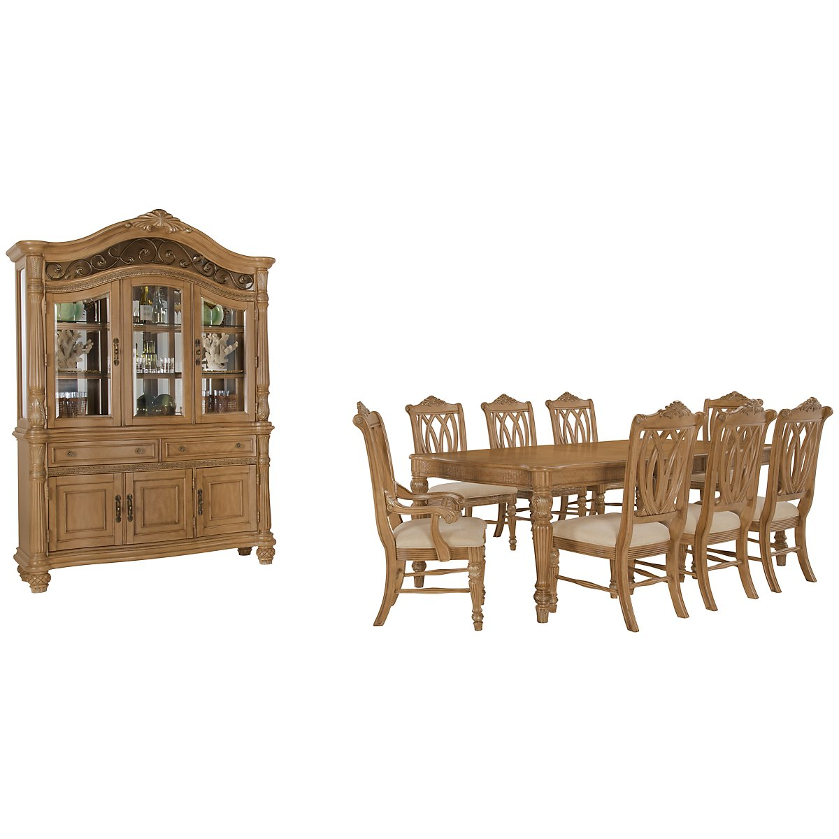 Tradewinds Light Tone Rectangular Dining Room
