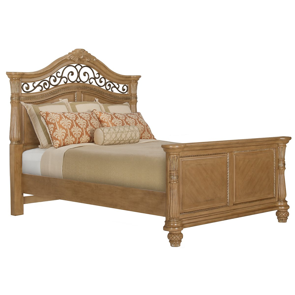 Tradewinds Light Tone Mansion Bed