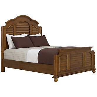 Claire Mid Tone Mansion Bed