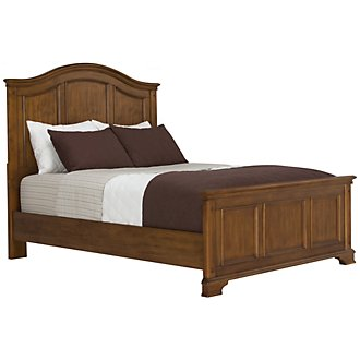 Claire Mid Tone Panel Bed