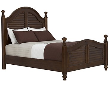 Claire Dark Tone Poster Bed