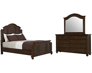 Claire Dark Tone Mansion Bedroom