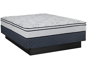 Kevin Charles Prescott Plush Innerspring Euro Top Mattress Set