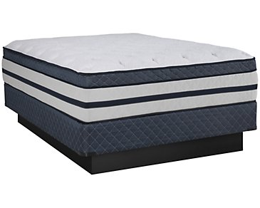 Kevin Charles Resort Plush Innerspring Euro Top Mattress Set