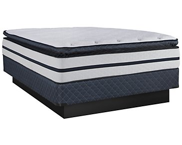 Kevin Charles Renewal Plush Innerspring Pillow Top Mattress Set
