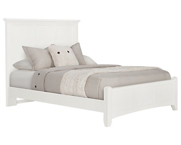 Captiva White Panel Bed