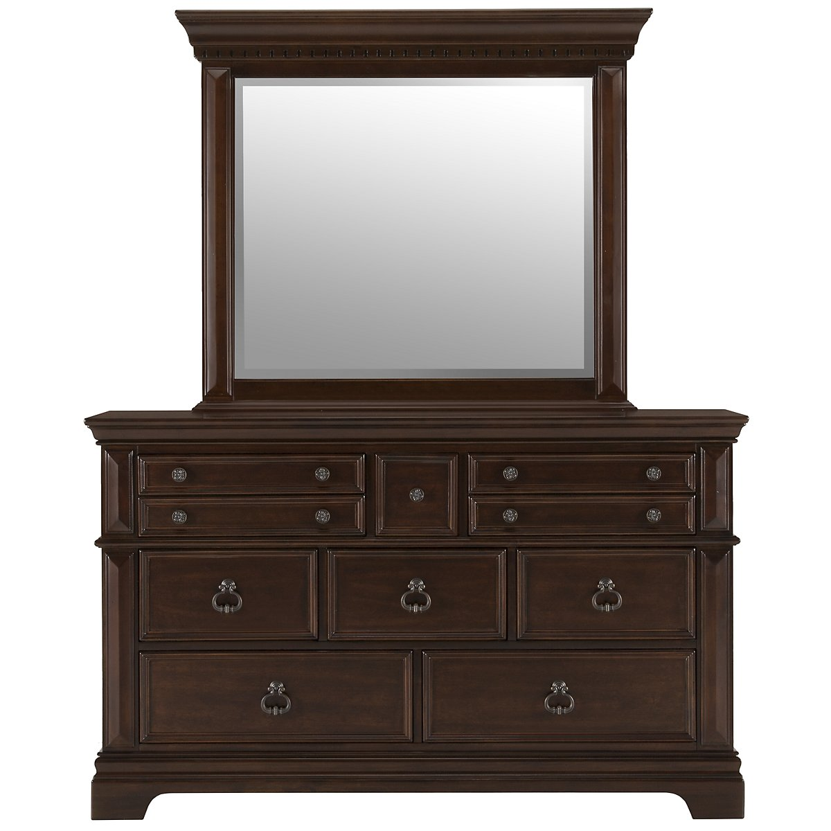 Emerson Dark Tone Dresser & Mirror