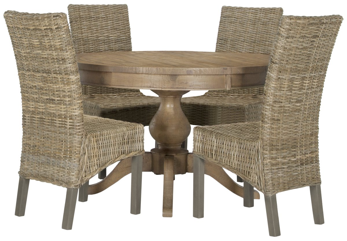 city furniture jaden light tone round table   woven chairs, Home designs