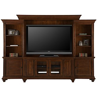 Antigua Mid Tone Entertainment Wall