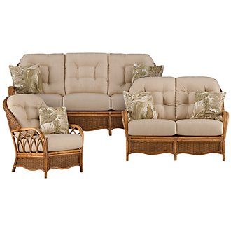Glades Light Tone Woven Living Room