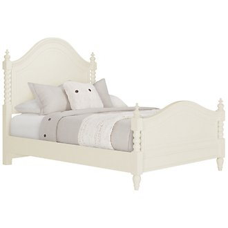 Product Image: Harbor View White Poster Bed
