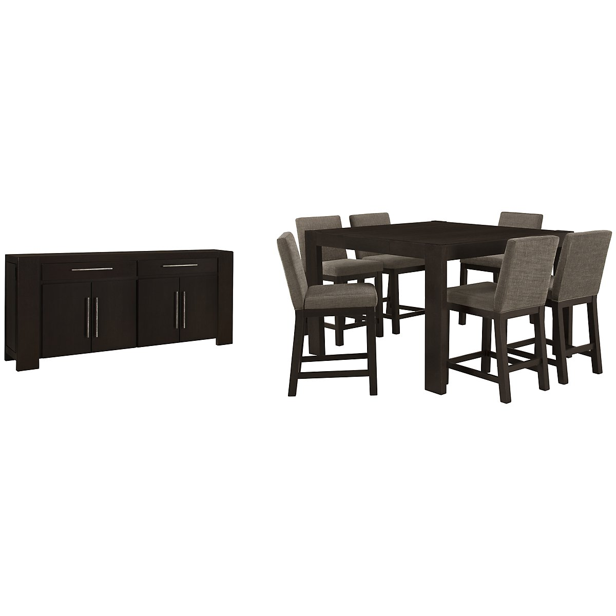 Tocara Dark Tone High Dining Room