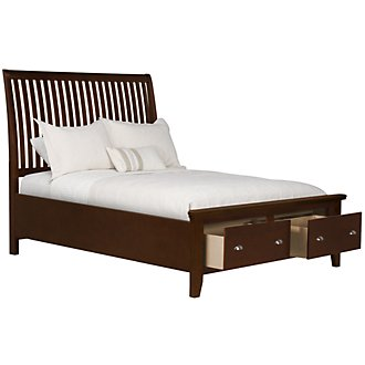 Product Image: Sao Paolo Dark Tone Panel Storage Bed