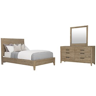 Product Image: Casablanca Light Tone Panel Bedroom