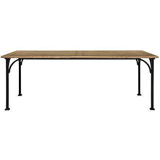 Shelbourne2 Mid Tone Rectangular Table